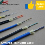 G657A1 G657A2 OM1 OM2 OM3 5.5mm armoured 12 core fiber optic cable