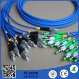 FC/PC-FC/APC 12 Core Sinlge mode  Armoured Fiber Optic Cable